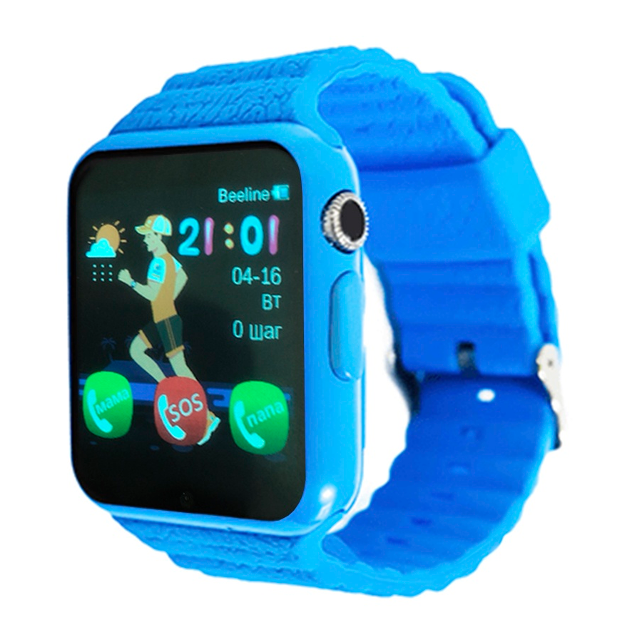 Часы Smart Baby Watch SBW 2 голубой